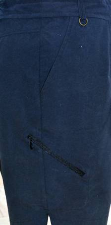 side pocket detail