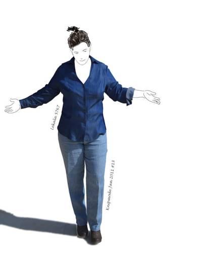 tencel shirt, linen jeans