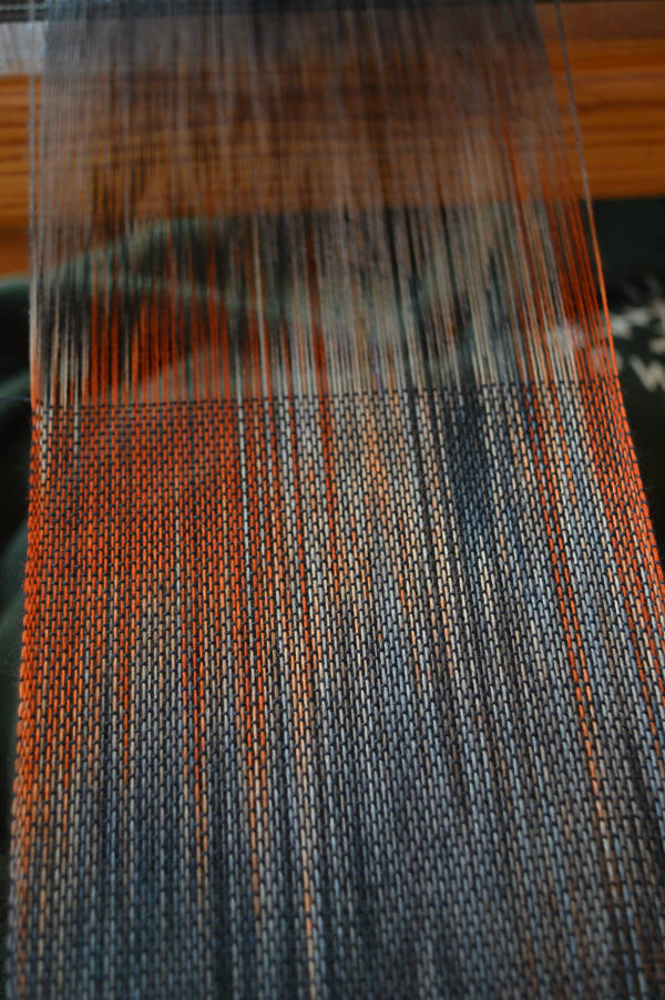 finally weaving!