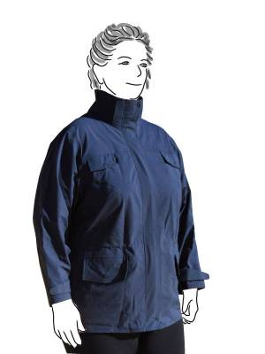 Charcoal Goretex Jacket - front