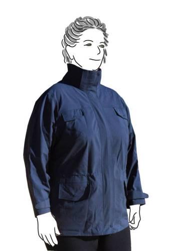 Charcoal Goretex Jacket - front