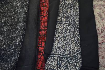 Black fabric options