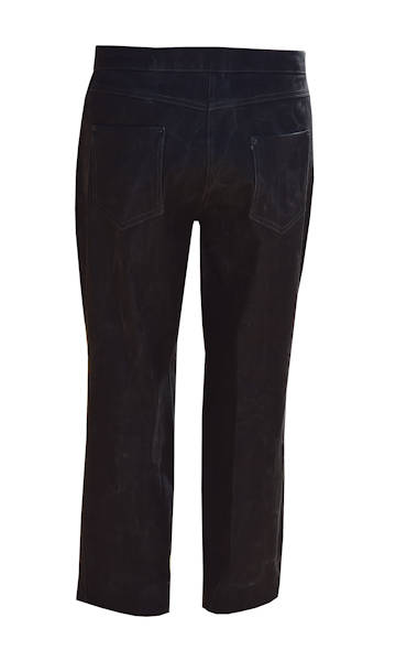 Charcoal jeans - back