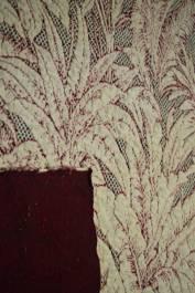 Palm jacquard knit