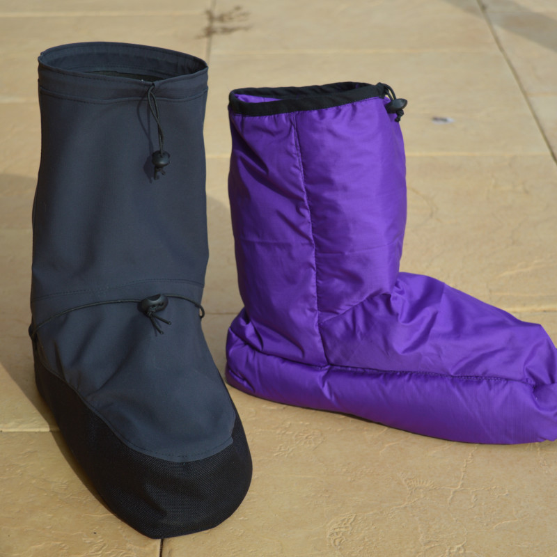 finished waterproof shell and down boot.  Yayyyy!