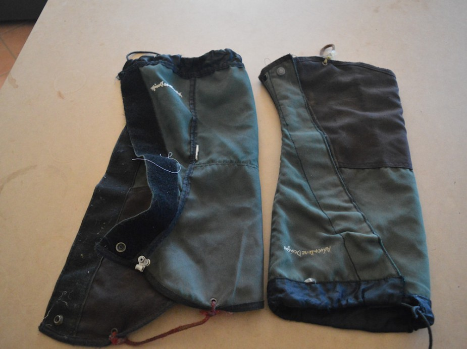 original gaiters - eeew!