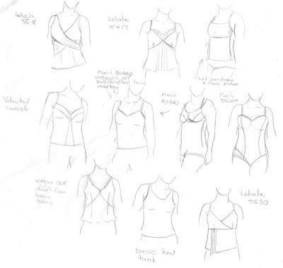 my tech drawings before the class