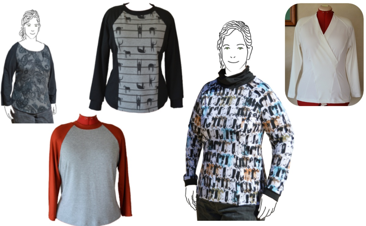 Pattern Stash: The raglan tops