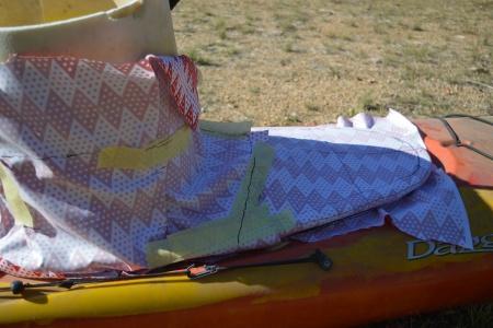 kayak_draping