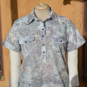paisley shirt - front
