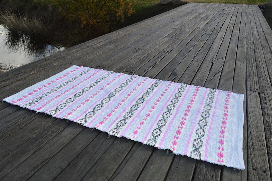 Finished rug