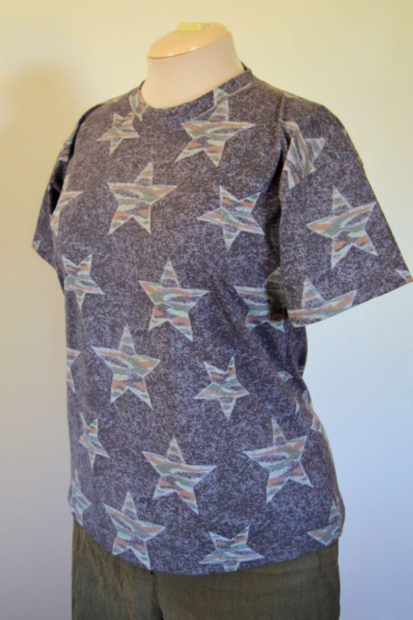 Star T-shirt : self-drafted pattern