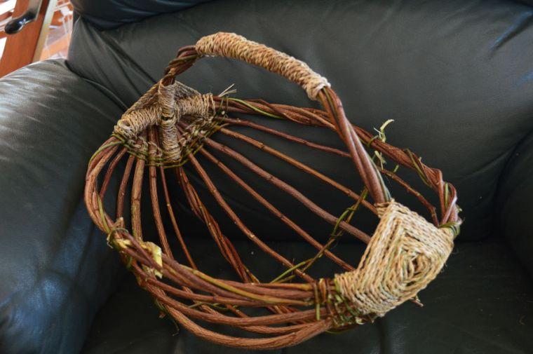 basket in progress