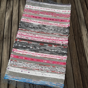 'Remnant Bag' back of weaving