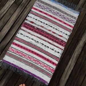 'Remnant Bag' off the loom